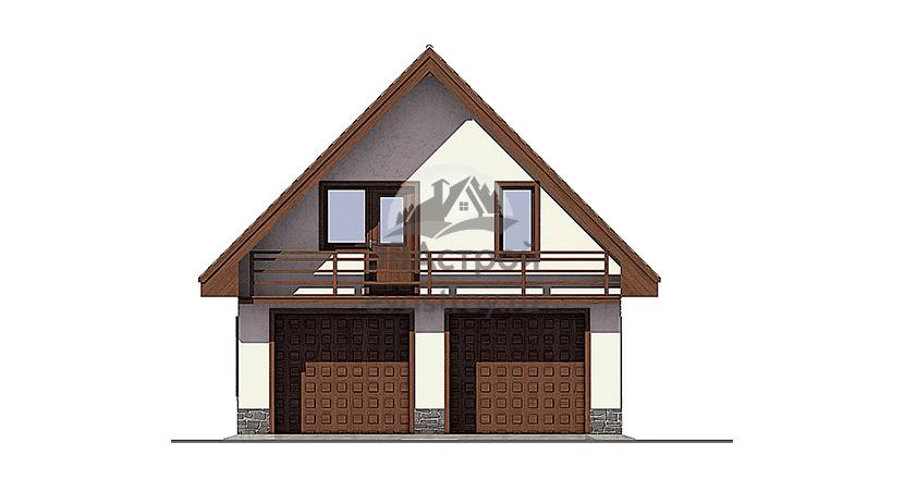Проекты гаражей с мансардой из пеноблоков куплю гараж жебрака